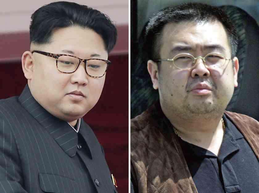 , Hermanastro de Kim, informante de la CIA