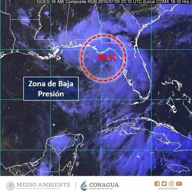 , Ciclón en ciernes en el Atlántico
