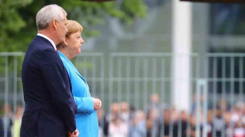 , Preocupa Merkel: denuevo con temblores
