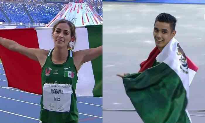 , México obtiene dos oros en los 400 metros planos