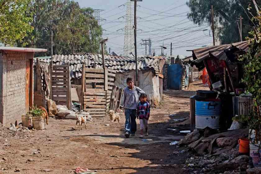 , El sureste, con mayor pobreza