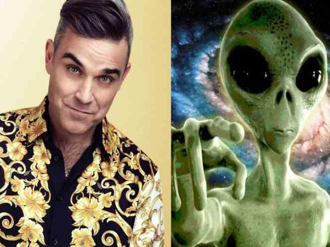 , Robbie Williams contrata guaruras por temor a los aliens
