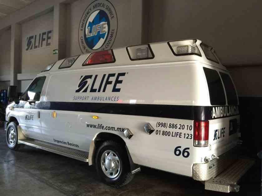, Atentado incendiario contra ambulancias