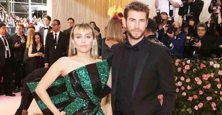 , Miley Cyrus y Liam Hemsworth se separan