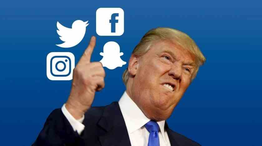 , Prepara Trump golpe contra redes sociales