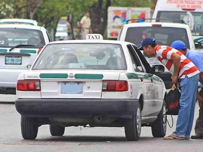 , Inconforman nuevas tarifas a taxistas