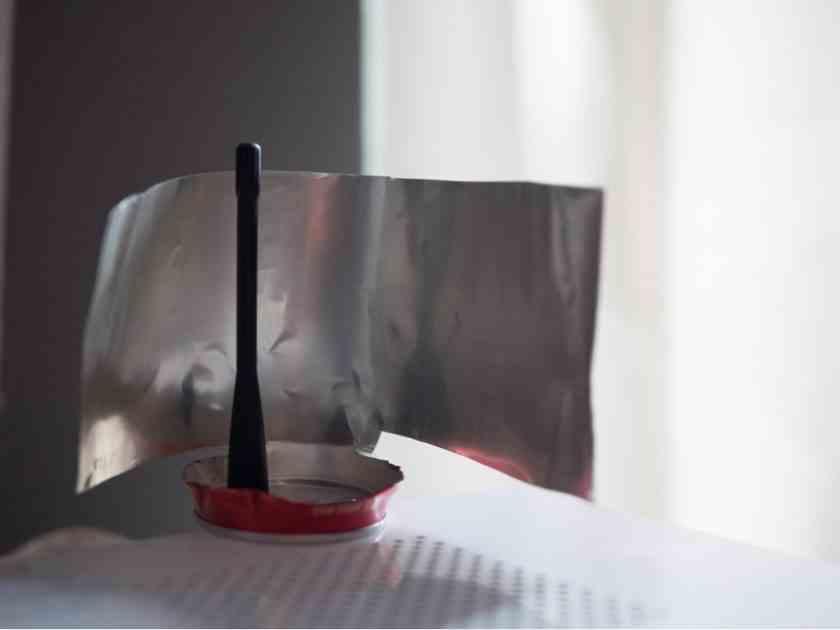 , Cómo mejorar la señal de tu wifi con una lata