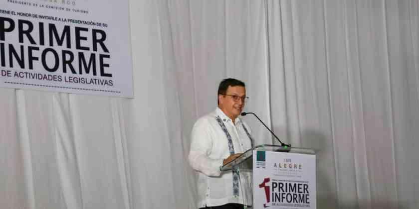 , Presenta Luis Alegre informe de actividades