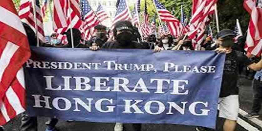 , Amenaza China a EEUU por apoyo a Hong Kong