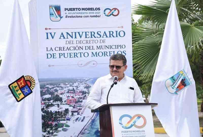 , Conmemoran creación del municipio de Pto. Morelos