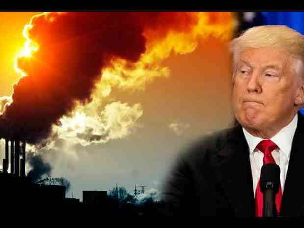 , Patea Trump futuro ambiental del planeta