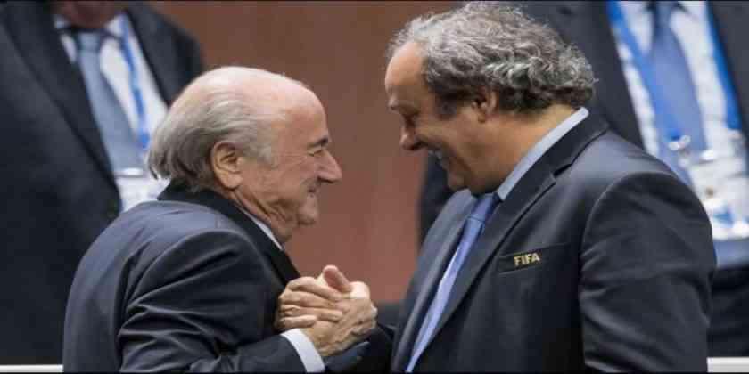 , La FIFA demanda a Blatter y Platini por dos MDD