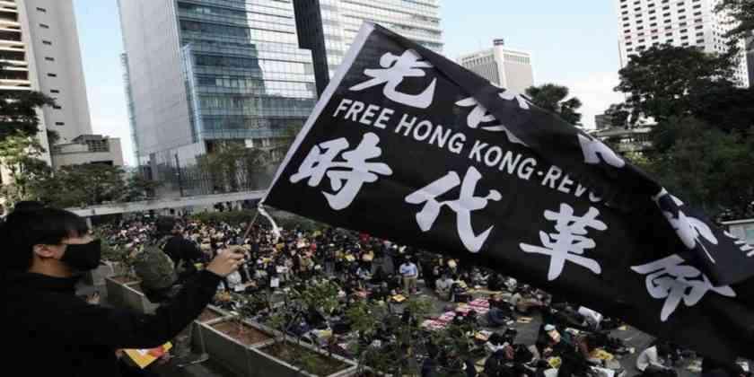 , Sanciona China a EEUU por interferir en Hong Kong