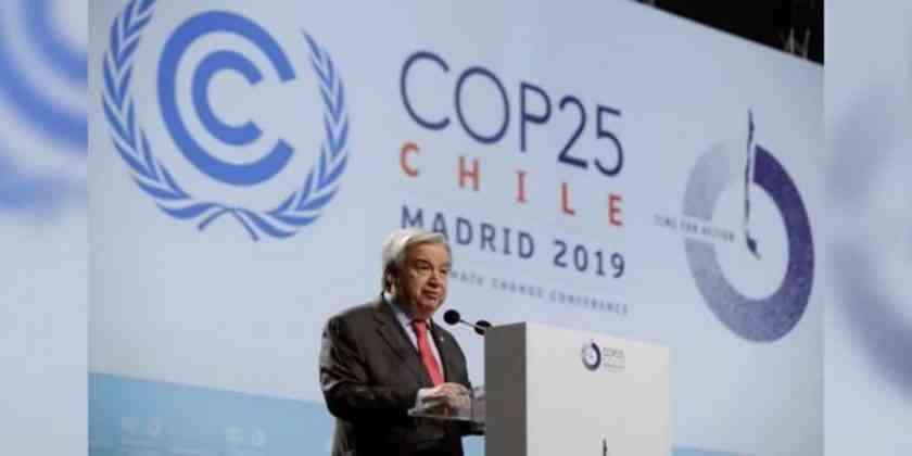 , Punto crítico en cambio climático, advierte ONU