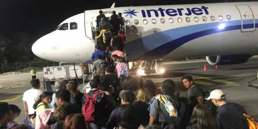 , Aumentó Interjet 9.4% su tráfico de pasajeros