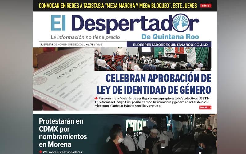 EL DESPERTADOR 711